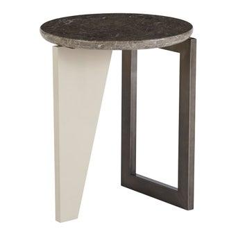 โต๊ะข้าง รุ่น Nina Magon สีน้ำตาล-00
