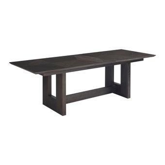 โต๊ะอาหาร รุ่น Modern Onyx สีโอ๊ค-00