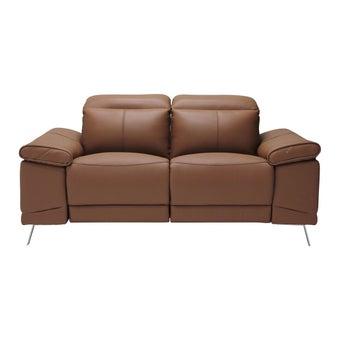 เก้าอี้พักผ่อนหนังแท้ เก้าอี้พักผ่อนปรับระดับไฟฟ้า 2 ที่นั่ง รุ่น Giorda-SB Design Square