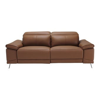 เก้าอี้พักผ่อนหนังแท้ เก้าอี้พักผ่อนปรับระดับไฟฟ้า 3 ที่นั่ง รุ่น Giorda-SB Design Square