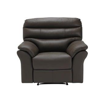 เก้าอี้พักผ่อน รุ่น Giony สีน้ำตาลเข้ม