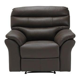 เก้าอี้พักผ่อนหนังแท้ เก้าอี้พักผ่อน 1 ที่นั่ง รุ่น Giony-SB Design Square