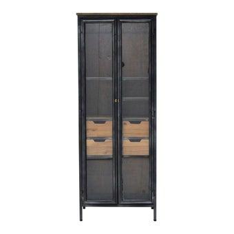 ตู้เก็บของ รุ่น Burkin สีดำ-00