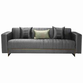 โซฟาผ้า 3 ที่นั่ง Osify สีเทา-02
