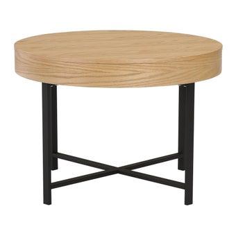 โต๊ะกลาง รุ่น Hipty สีโอ๊ค1