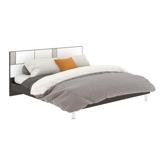 PALAZZO/เตียง5'/A/ขาAเงา/ROY/CHGขาว/MESH-00