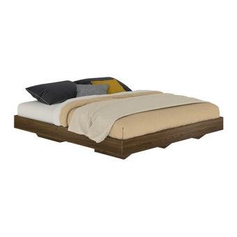 เตียงนอน ขนาด 5 ฟุต รุ่น Blissey สีลายไม้ธรรมชาติ-00