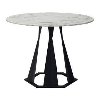 โต๊ะทานอาหาร โต๊ะอาหารขาเหล็กท๊อปหิน รุ่น Hershey-SB Design Square