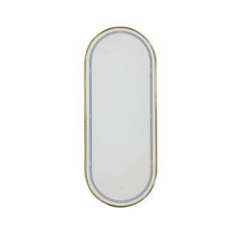 MIRROR-LED/LA340/วงรีขอบทอง-00