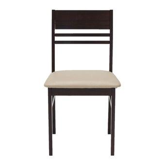 เก้าอี้ทานอาหาร เก้าอี้ไม้เบาะหนัง รุ่น Newnano-SB Design Square
