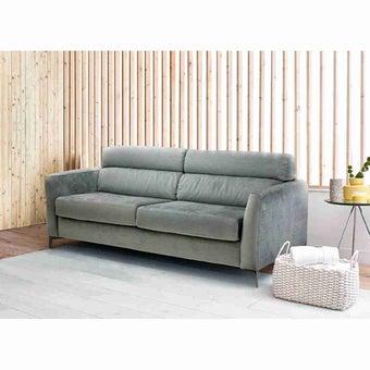 โซฟาผ้า โซฟาเบด รุ่น Flowery สีสีเทา-SB Design Square