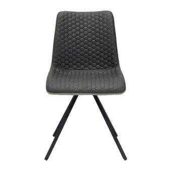 เก้าอี้ทานอาหาร เก้าอี้เหล็กเบาะผ้า รุ่น Yinley-SB Design Square