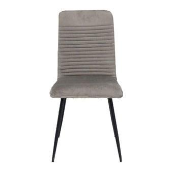 เก้าอี้ทานอาหาร เก้าอี้เหล็กเบาะผ้า รุ่น Yobi-SB Design Square
