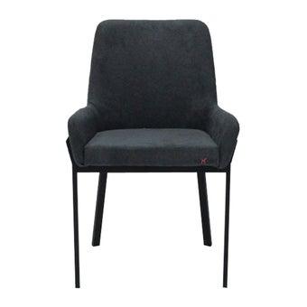 เก้าอี้ทานอาหาร เก้าอี้เหล็กเบาะผ้า รุ่น Tiger-SB Design Square