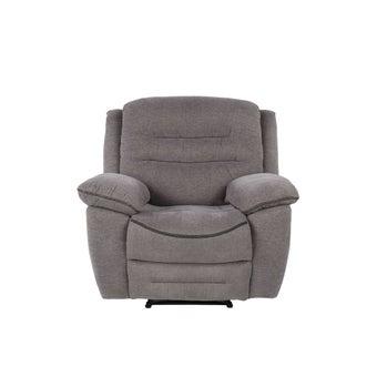เก้าอี้พักผ่อนผ้า เก้าอี้พักผ่อน 1 ที่นั่ง รุ่น Unapo สีสีเทา-SB Design Square