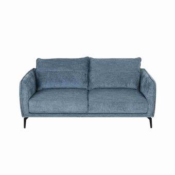 โซฟาผ้า 3 ที่นั่ง รุ่น Lapurin  สีฟ้า-00