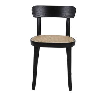 เก้าอี้ทานอาหาร เก้าอี้ไม้ล้วน-SB Design Square