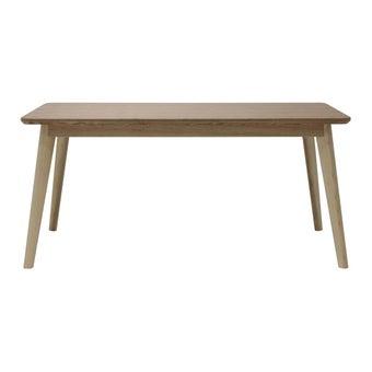 โต๊ะทานอาหาร โต๊ะอาหารไม้ล้วน-SB Design Square