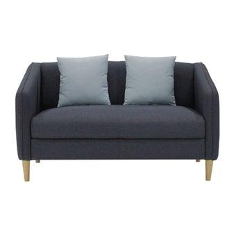 โซฟาผ้า โซฟา 2 ที่นั่ง รุ่น Crech สีสีฟ้า-SB Design Square