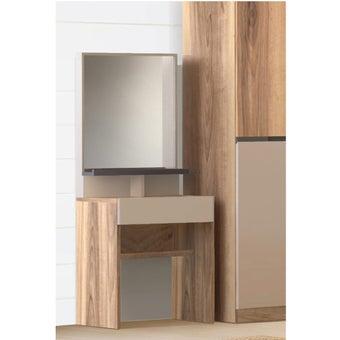 SPENDER/โต๊ะแป้งDT-70/ลินเบิร์ก/เทาอ่อน สีไม้อ่อน01