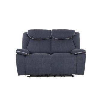 เก้าอี้พักผ่อนผ้า เก้าอี้พักผ่อนปรับระดับไฟฟ้า 2 ที่นั่ง รุ่น Rumaysa สีสีเทา-SB Design Square