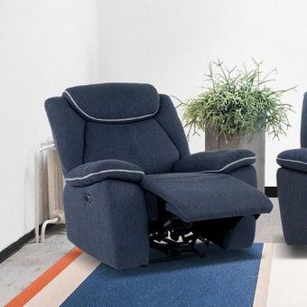 เก้าอี้พักผ่อนผ้า 1 ที่นั่ง รุ่น Rumaysa สีเทาเข้ม-01