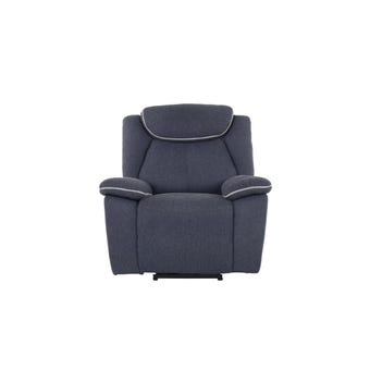 เก้าอี้พักผ่อนผ้า เก้าอี้พักผ่อนปรับระดับไฟฟ้า 1 ที่นั่ง รุ่น Rumaysa สีสีเทา-SB Design Square