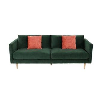 โซฟาผ้า 3 ที่นั่ง Salisa สีเขียว-02