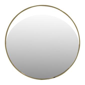 SCHกระจกติดผนัง#CM17085AสแตนเลสทองMDH***