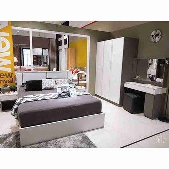 ชุดห้องนอน โต๊ะเครื่องแป้งแบบนั่ง รุ่น Element-SB Design Square