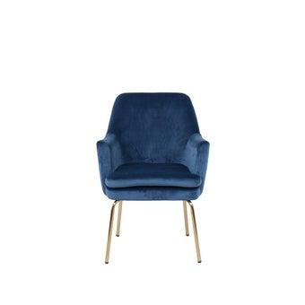 เก้าอี้ รุ่น A-Chisa สีฟ้า-00