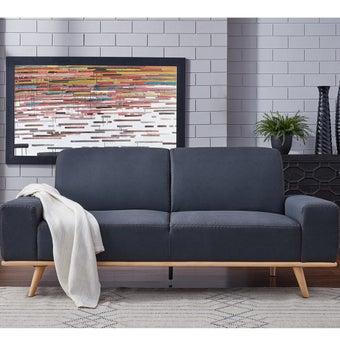 โซฟาผ้า โซฟาเบด รุ่น Mauro สีสีเทา-SB Design Square
