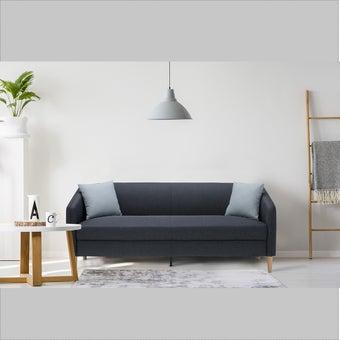 โซฟาผ้า โซฟา 3 ที่นั่ง รุ่น Crech สีสีฟ้า-SB Design Square