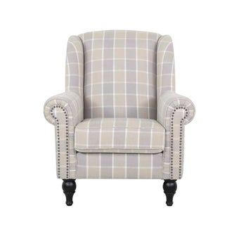 โซฟาผ้า1ที่นั่ง Horally สีเทา 02