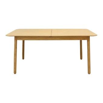 โต๊ะทานอาหาร โต๊ะอาหารไม้ล้วน รุ่น Diamond-SB Design Square