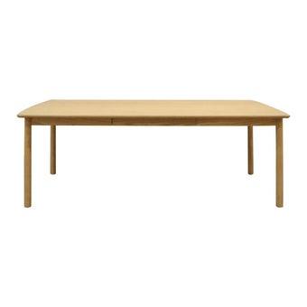 โต๊ะทานอาหาร โต๊ะอาหารไม้ล้วน รุ่น Dude-SB Design Square
