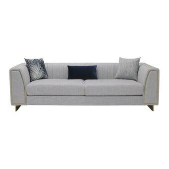 โซฟาผ้า โซฟา 3 ที่นั่ง รุ่น Findara สีสีเทา-SB Design Square