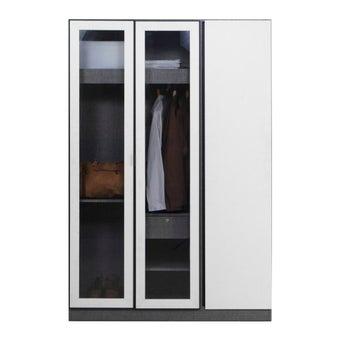 ชุดห้องนอน ตู้เสื้อผ้าบานเปิด รุ่น Paris-SB Design Square