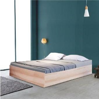 ชุดห้องนอน เตียง รุ่น KC-PLAY สีสีโอ๊คอ่อน-SB Design Square