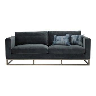 โซฟาผ้า โซฟา 3 ที่นั่ง รุ่น Arento สีสีเทา-SB Design Square