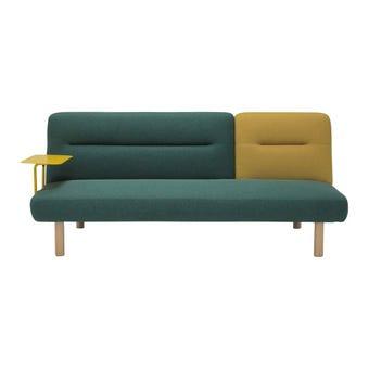 โซฟาผ้า โซฟาเบด รุ่น Notify สีสีเหลือง-SB Design Square