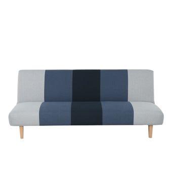 โซฟาผ้า โซฟาเบด รุ่น Nifty สีสีฟ้า-SB Design Square
