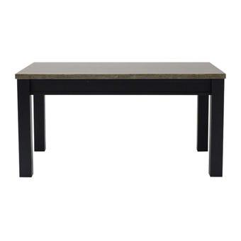 โต๊ะทานอาหาร โต๊ะอาหารขาไม้ท๊อปหิน รุ่น Funfair-SB Design Square
