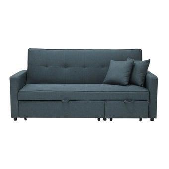 โซฟาผ้า โซฟาเบด รุ่น Saline สีสีฟ้า-SB Design Square
