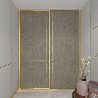 หน้าบาน  รุ่น Elegante สีทอง01