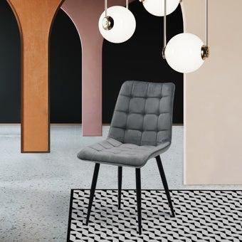 เก้าอี้ รุ่น Lika สีเทา-02