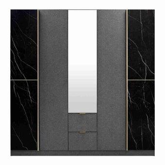 ชุดห้องนอน ตู้เสื้อผ้าบานเปิด รุ่น Marseille-SB Design Square