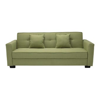 โซฟาผ้า โซฟาเบด รุ่น Fairly สีสีเขียว-SB Design Square