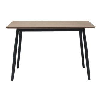 โต๊ะทานอาหาร โต๊ะอาหารไม้ล้วน รุ่น M-Pazo-SB Design Square