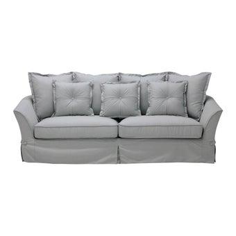 โซฟาผ้า โซฟา 3 ที่นั่ง รุ่น Lucen สีสีเทา-SB Design Square